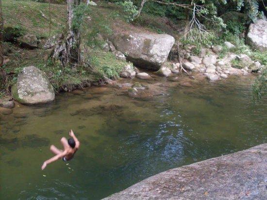 cuidados em cachoeiras