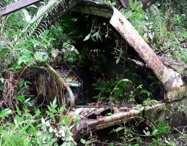 Jeep abandonado