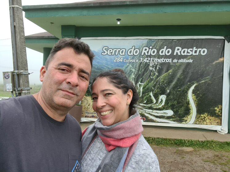 Xterráqueo na Serra do Rio do Rastro